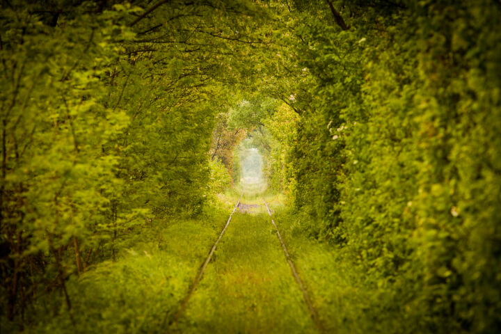 Tunnel of Love in Romania